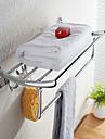 Rechauffe Serviette Chrome Fixation Murale 60*23*18cm Acier Inoxydable Contemporain