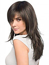 16inch Straight Brazilian Human Hair Natural Color Lace Front Wig