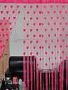 un panou perdele șir de inimi de designer multicoloră linie poliester eșarfă moț