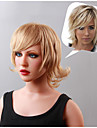 Monofilament Top(1 inch) Personality Human Virgin Remy Straight Capless Hair Wigs