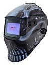 svart skalle svetsning verktyg för styrning sol li batteri auto mörkare tig MIG-svetsning mask / hjälmar / mössa / ögon glasögon