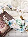נשים בד כיסוי ראש-חתונה / אירוע מיוחד / חוץ זרי פרחים חלק 1