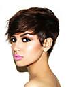 humain machine perruques de cheveux fait glueless cheveux humains perruque courte vison brazilian vierges courtes perruques de cheveux