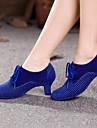 Women\'s Dance Shoes Belly / Latin / Dance Sneakers / Modern / Swing Shoes / Salsa / SambaVelvet / Sparkling Glitter /