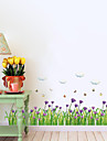 Botanique / Nature morte / Floral Stickers muraux Stickers avion,pvc 50*70CM