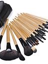 24 Brush Sets Nylon Børste Professionelt / Fuld Dækning / Miljøvenlig / Bærbar / Rejse Træ Ansigt / Lip / -jne Andre
