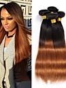 4st 12-24 tum brasilianska rakt hår ombre # 1b30 färg människohår väver