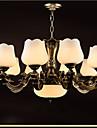 40W Ljuskronor ,  Rustik Elektropläterad Särdrag for Ministil MetallLiving Room / Bedroom / Dining Room / Sovrum / Matsalsrum /