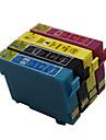 bloom®t1291-T1294 cartouche d\'encre compatible pour epson stylus t26 / t27 / tx106 / tx109 / tx117 pleine encre (4 couleur de 1 jeu)