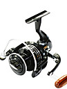 FISHDROPS BSLGH6000 4.7:1, 13 Ball Bearings One Way Clutch Spinning Fishing Reel, Right & Left Hand Exchangable