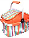 OEM Oxford / PVC Picknick Bag Orange / Rose / Gul Singel camping, outdoor adventures, sporting events