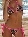 Femei Bikini Femei Bustieră Monocolor Fără Întăritură Polyester