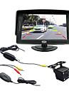 4,3 tums TFT-LCD bil backspegel övervaka med tv