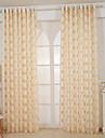 Un Panou Tratamentul fereastră Modern European Designer  , Mată Sufragerie Poliester Material Sheer Perdele Shades Pagina de decorare For