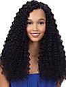 8-24 pouces forte densite jerry perruque frisee brazilian vierge avant de cheveux humains pleine / dentelle pour les femmes noires