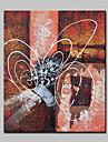 lager handmålade abstrakt oljemålning på duk väggkonst bilden för vardagsrummet heminredning väggmålningar dugg ram