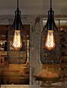 MAX 60W Hängande lampor ,  Vintage Målning Särdrag for Ministil Metall Living Room / Bedroom / Dining Room / Sovrum / Badrum / Ingång