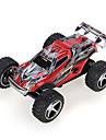 Buggy WLToys L929 1:28 Borste elektrisk RC Bil 50KM/H 2.4G Svart / Röd / Blå Färdig att köraFjärrkontroll bil / Fjärrkontroll/Sändare /