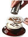 8pcs kaffe novelty fint kaffe krans mögel utskrift mögel