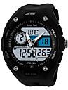 Bărbați Ceas Sport Ceas La Modă Ceas de Mână Quartz Quartz Japonez LED Calendar Zone Duale de Timp alarmă Cronometru Iluminat PU Bandă