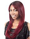 usure quotidienne personnalite vin perruque rouge dames synthetiques longs cheveux raides haute temperature perruques de style Europe et