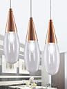 Max 60W Hängande lampor ,  Modern Elektropläterad Särdrag for Flush Mount Lights / Ministil MetallLiving Room / Bedroom / Dining Room /