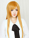 Cosplay Wigs Sword Art Online Asuna Yuuki Orange Long / Straight Anime Cosplay Wigs 80 CM Heat Resistant Fiber Female