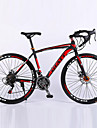 Road Bike Cycling 21 Speed 26 Inch/700CC Unisex / Men\'s / Women's SHIMANO TZ-30 BB8 Double Disc Brake Springer ForkMonocoque / Hard-tail