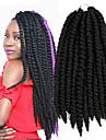 #1 La Havane Tresses Twist Extensions de cheveux 14inch Kanekalon 2 Brin 80g gramme Braids Hair