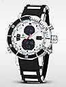 WEIDE Bărbați Ceas de Mână Ceas digital Quartz Piloane de Menținut Carnea Quartz JaponezLCD Calendar Cronograf Rezistent la Apă Zone
