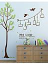 보태니컬 / 로맨스 / 미로스 / 패션 / 판타지 벽 스티커 플레인 월스티커,pvc 60*90cm