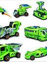 Soldriven Prylar Originella leksaker Grön ABS