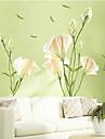 Environmental Lily Shaped Living Room/ Bedroom Wall Sticker