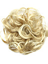 peruk gyllene 6cm hög temperatur tråd hår cirkelfärg 6023m
