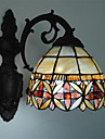 Ministil Vägglampetter,Tiffany E26/E27 Metall