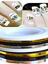 1 Autocollant d\'art de clou Bijoux pour ongles Autre decorations Abstrait Adorable Mariage Maquillage cosmetique Nail Art Design