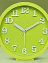 Rond Moderne/Contemporain Horloge murale,Autres Plastique 132.*13.2*5.2