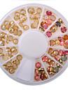 1PC Autocollant d\'art de clou Bijoux pour ongles Adorable Punk Maquillage cosmetique Nail Art Design