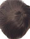 indetectable peau super mince toupee hommes pleine moumoute pu pour le systeme des hommes de morceau de cheveux