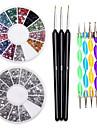 Kit ongle Manucure Accessoires Decoration ongle bricolage Kit Acrylique