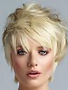 courts blonds femmes de qualite superieure perruques de cheveux perruque europeenne mode droite perruque