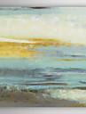 handmålade oljemålning abstrakt himmel med sträckt ram 7 vägg arts®