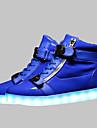 ledde skor USB-laddning lysande skor mäns casual skor mode sneakers svart / blå / röd / vit