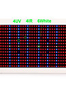 450W Lampes Horticoles LED 15000 lm Blanc Naturel / Rouge / Bleu LED Haute Puissance AC 85-265 V 1 pieces