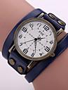 Men\'s Leather Quartz Watch Wrist Watch Cool Watch Unique Watch Fashion Watch