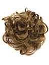 peruk brun 6cm hög temperatur tråd hår cirkel färg 2005