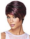 europe et aux Etats-Unis le nouveau polyester noir teint perruque age moyen et vieux 3 pouces naturels perruques courtes droites