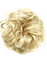 peruk gyllene 6cm hög temperatur tråd hår cirkel färg 1003