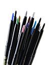 Eyeliner Crayons Materiel Longue Duree Naturel Noir Gris Marron Bleu Vert Dore Argente Cafe Yeux 1 1 LOMEOU