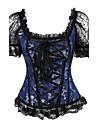 Feminin Corset sub Bust / Corset peste Bust / Plus Size Pijamale,Mediu Dantelă / Nailon / Polyester / PU-Sexy / Ridicare / Dantelă /
